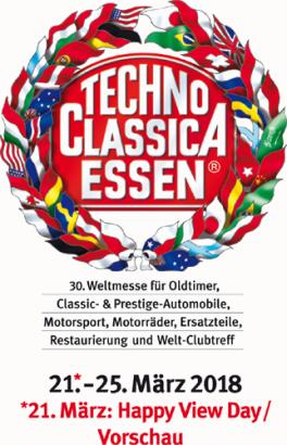 Schlossgarage Dumpe Südkirchen -Techno Classica 2018
