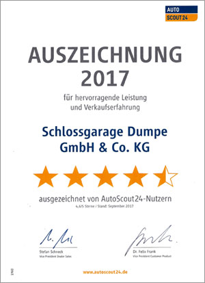 Schlossgarage Dumpe Autoscout 24