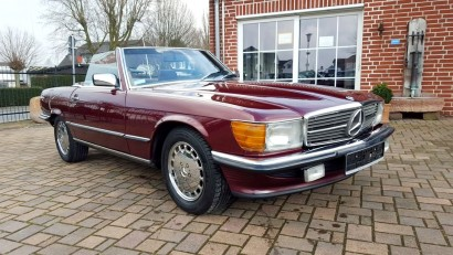 Mercedes Benz SL 560 Bj. 1986